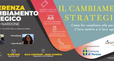 Conferenza: Il Cambiamento Strategico