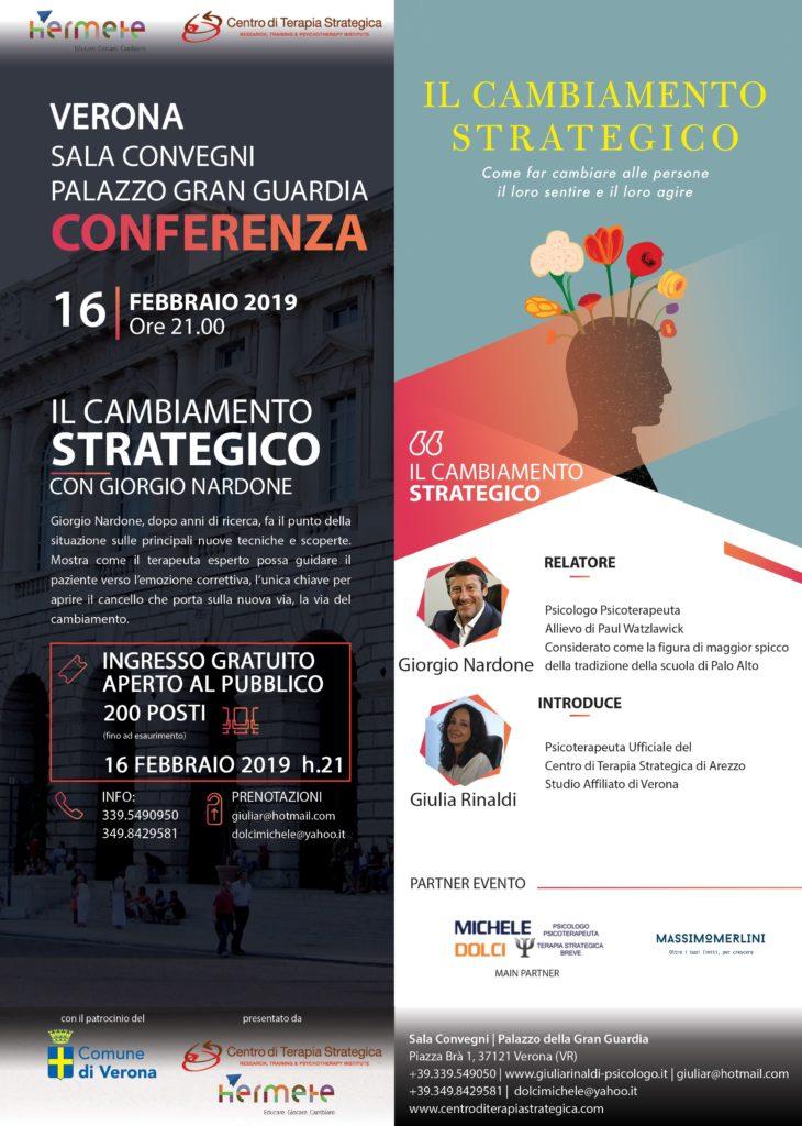 Flyer Evento Il Cambiamento Strategico A4 Web