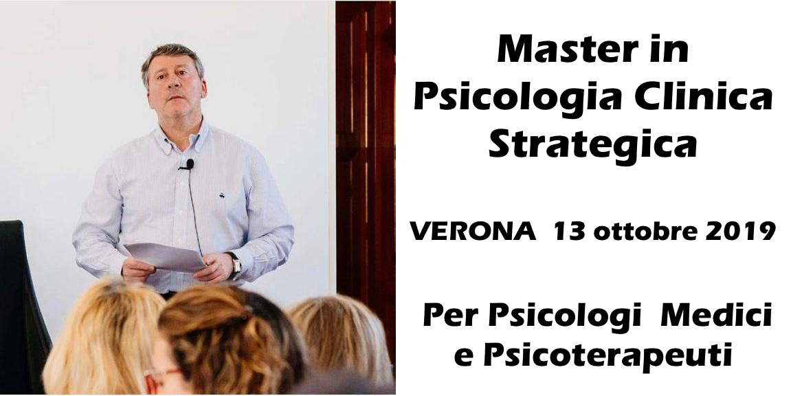 Master In Psicologia Clinica Strategica