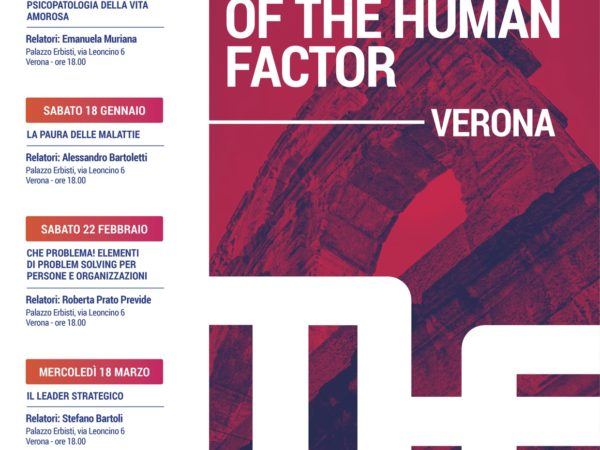 Tecnology of the Human Factor – Verona